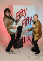 Fifty Fifty Partyband Duo